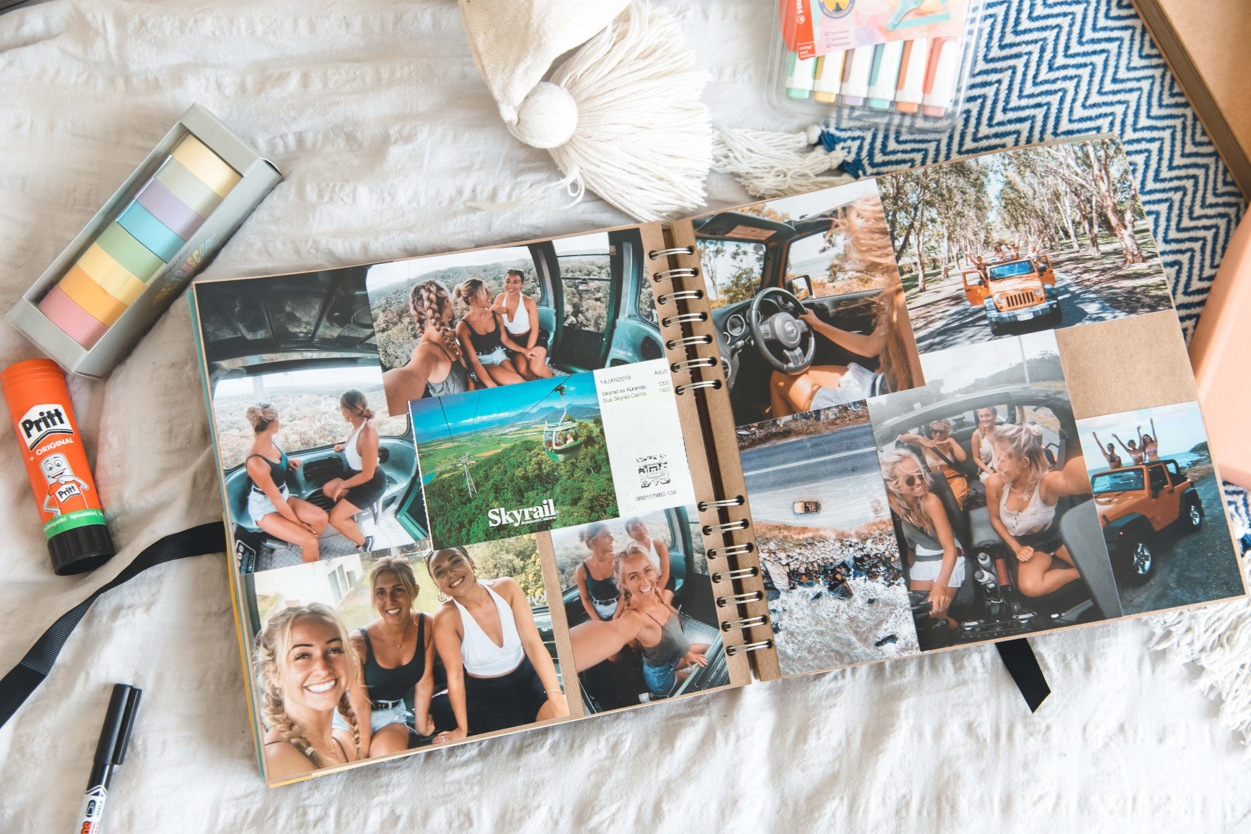 How to create a Scrapbook: The step – by – step Guide